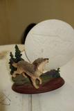 Bradford Exchange Mysteries Of The Wild Wolf Sculpture Moon Spirit