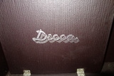 Decca Phonograph In Case Extra Needles And Records