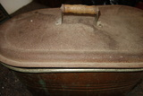 Copper Wash Tub Boiler With Lid