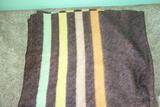 Orr Felt And Blanket Company Holland Tone Wool Blanket Vintage