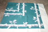 Vintage Tablecloth, Napkins And Placemat Lot Plus Hot Pads And Coasters