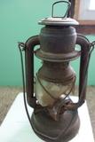 Vintage Oil Lamp Kerosene Barn Railroad