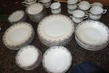Vintage Carlton China Dishes Tk Thun Bohemia