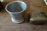 Metal Cup And Soap Box
