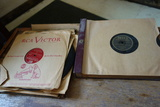 Lot Of Old Vinyl Records/ Sleeves And Record Book