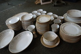 Fine China Of Japan Allegro China Set Plates, Bowls Cups