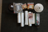 Food Saver Lot Bags, Rolls, Jar Tops And Canisters
