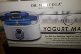 Dr. Mercola Kinetic Yogurt Maker- New