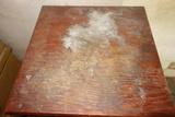 Wood Rotating Top Table