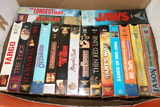 Huge Assortment Of Vhs Movies
