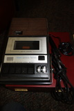 Vintage Sears Cassette Recorder And Bag 564.21671400
