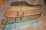 Set Of Five Gun Cases