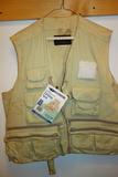 American Camper Fishing Vest Xl
