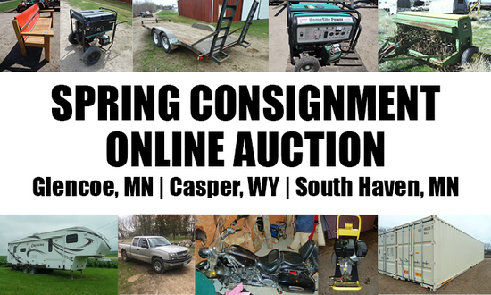 MN & WY Spring Consignment Auction Ends 5/13/19