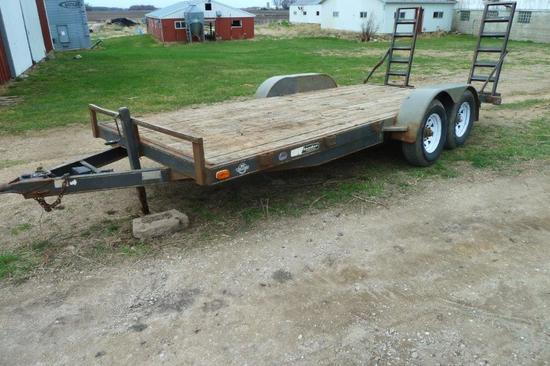 1998 Maclander 18' Trailer w/ramps