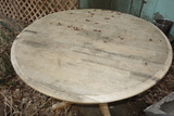 Round Wooden Table 43