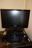 Samsung Tv/monitor, Sony Vcr And Magnavox Dvd