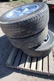 Lot of four tires