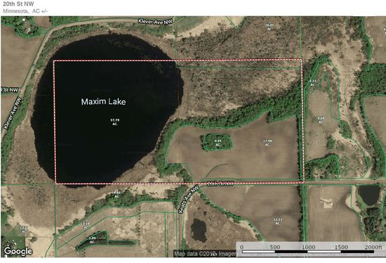 80 Acres Hunting, Farning, Home Site Annandale, MN