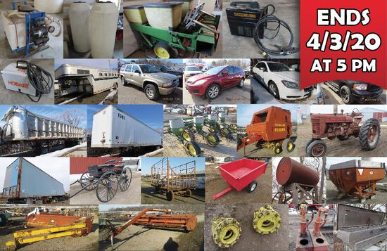 Spring Consignment Auction - Bidding Ends 4/3/20
