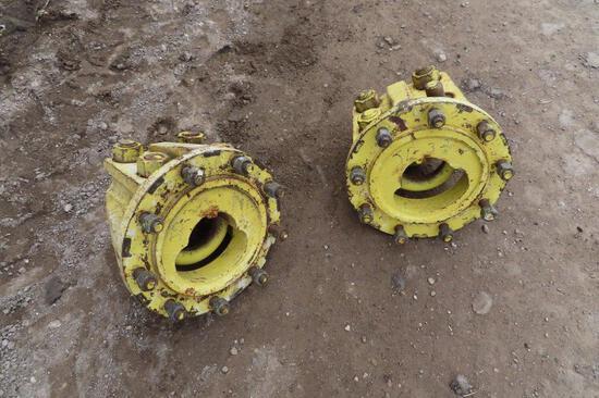 Pair of Yellow Hubs
