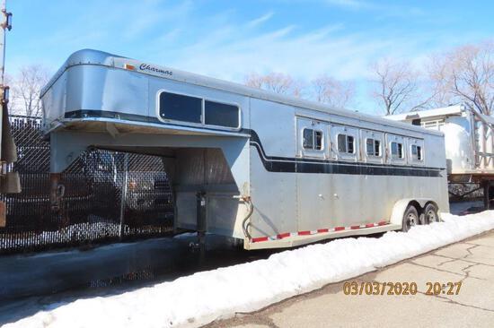 Silver Horse Trailer