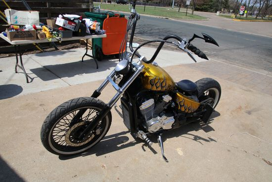 2002 Honda Shadow Bobber Motorcycle