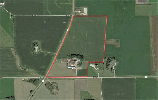 108 acres with building site