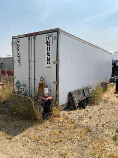 Used van trailer