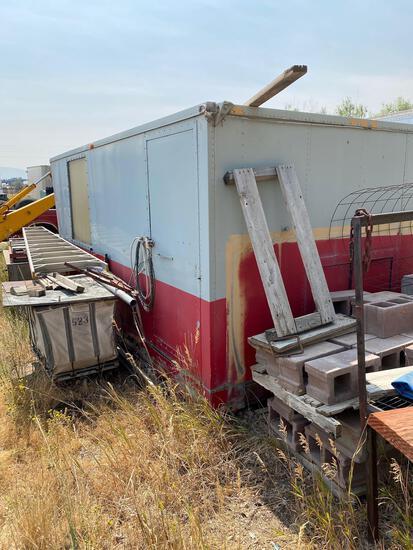 Storage trailer (old cooler)