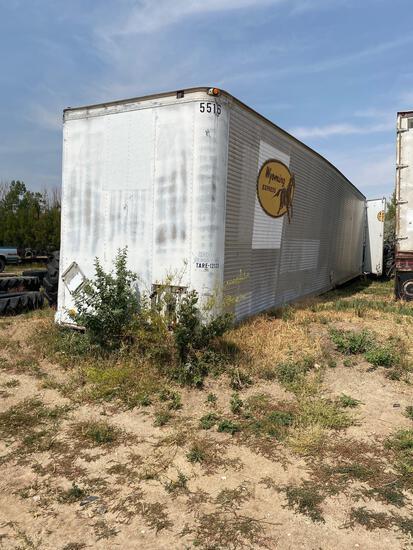 Semi trailer, no axles
