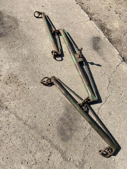 Steel eveners