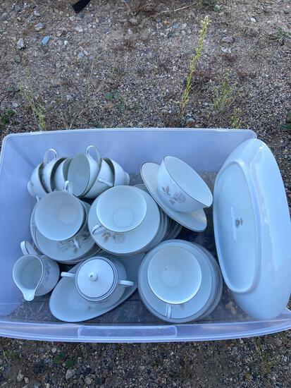 Noritake China partial set rosay
