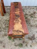 Western style bench