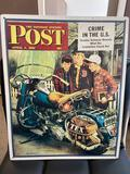 Saturday Evening Post Metal sign