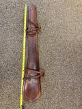 Leather scabbard