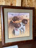 Great Hunting Dogs- G/S pointer signed and numbered print by Millen