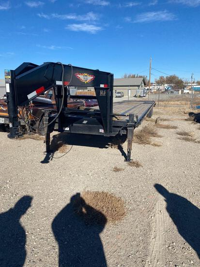 40 foot H&H gooseneck trailer