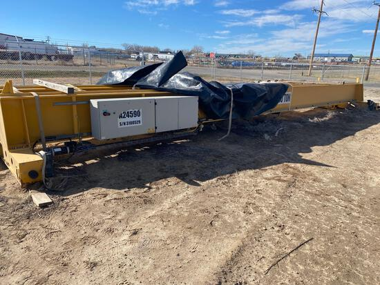 30 ton DeMag crane, A24590 with cxt 600 Hoist with cable --never installed before