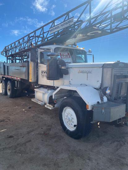 Winter Weiss Portadrill Drilling rig Detroit motor auto car truck