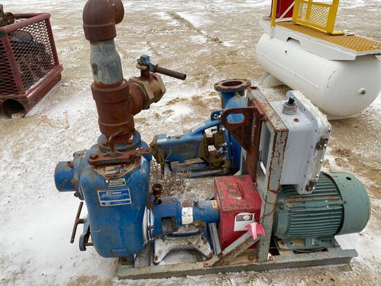 Gorman-Rupp trash pump