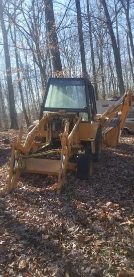 Case backhoe 580C