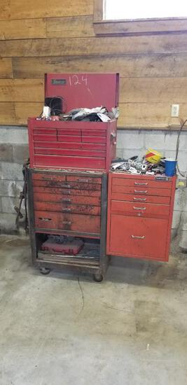 Big Rolling Tool Box and Tools