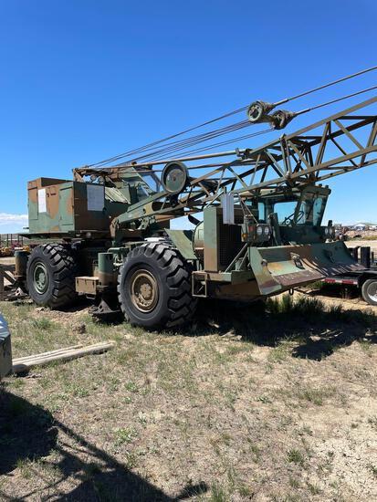 20 ton wheel mounted Crane