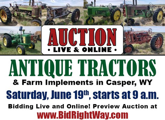 Antique Tractors and Farm Implements