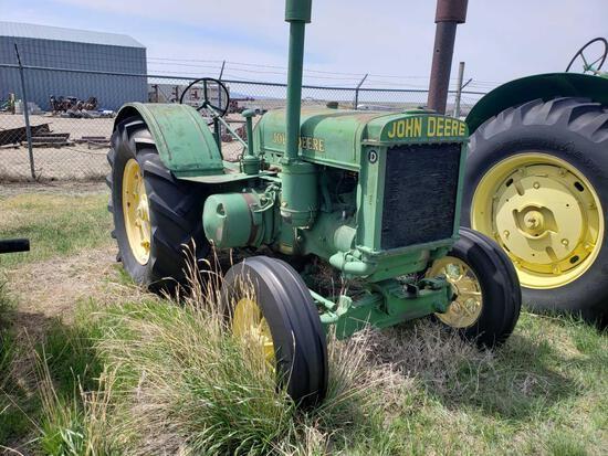 1936 D John Deere Tractor