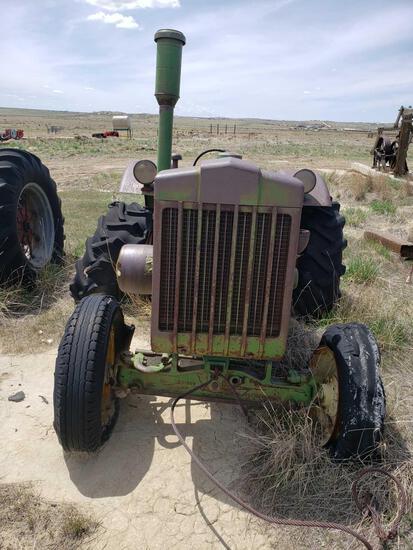 John Deere D 1948 Tractor