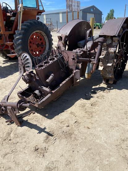 Steel wheel parts tractor