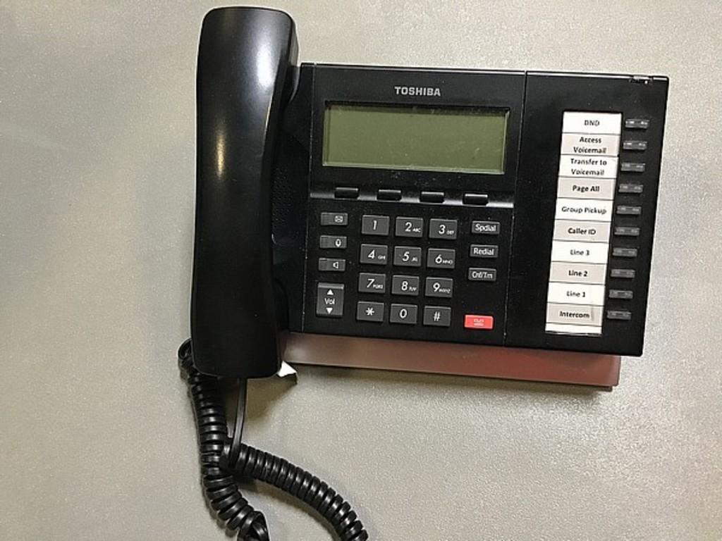 TELEPHONE SYSTEM TOSHIBA