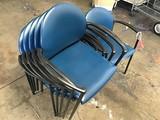 6 lobby chairs